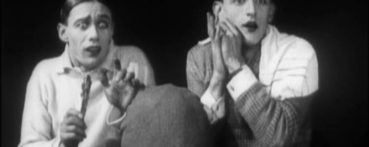 Battling Bruisers: Some Boxing Buffoonery (1925), part of LGBT Britain