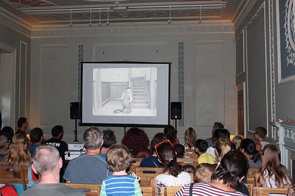 Buster Keaton screening Bromley Family Film Festival 2018