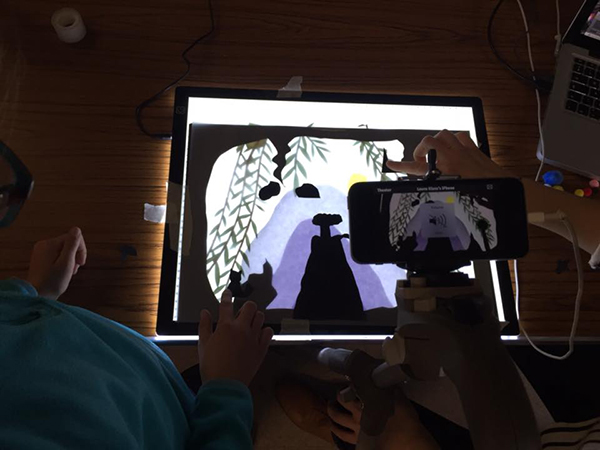 Lightbox Cinema Stop-motion Silhouette Animation Workshop