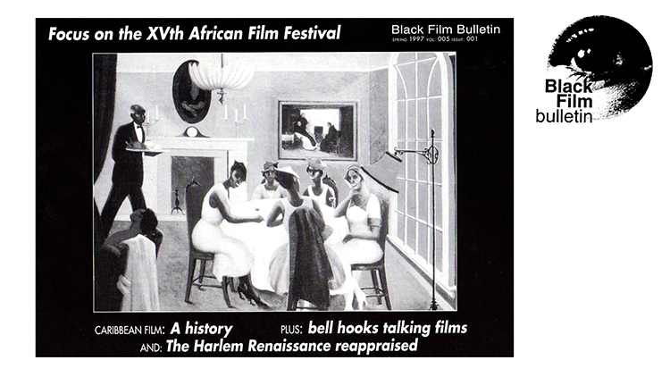 The cover of the BFB's spring 1997 issue © Black Film Bulletin