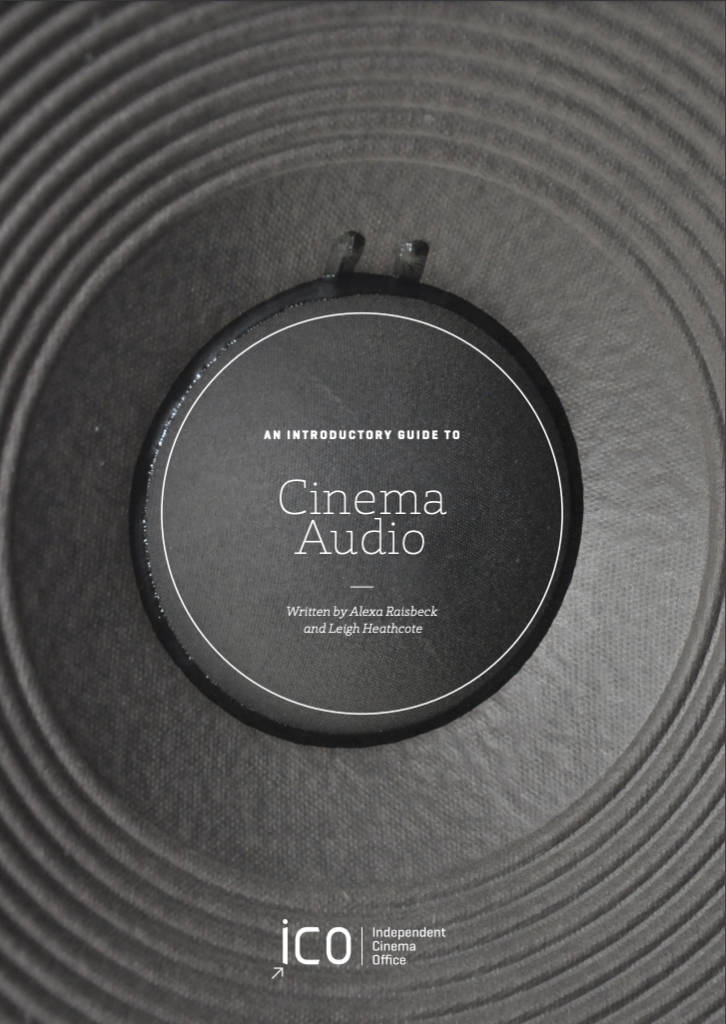 Cover image, cinema audio guide