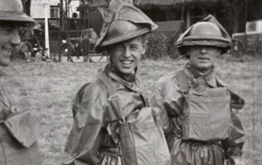 Film still from A.R.P (Air Raid Precautions)