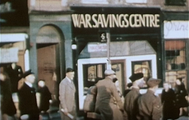 Film still from Captain Rowsell's Norwich