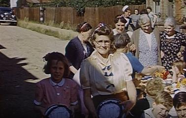 Film still from VJ Days